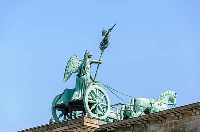 Fathers Day 1 - The Brandenburg Gate Quadriga - Berlin Germany by Colin Utz