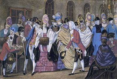 Ballroom Painting - The Bread And Butter Manufactory by English School