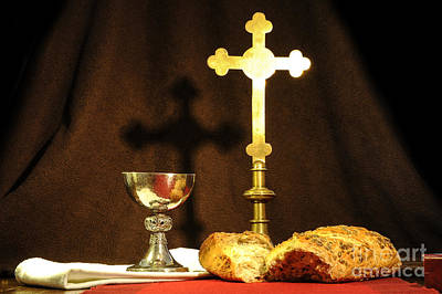 Communion Photograph - The Bread Of Life by Donald Davis