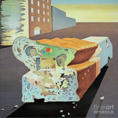 The Bread Truck Art Print by Ben Sapia