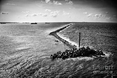 Photograph - The Breakwater Of The Panama Canal by Rene Triay Photography