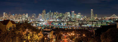Cityscapes Photograph - The Breath Taking View Of San Francisco by Www.35mmnegative.com