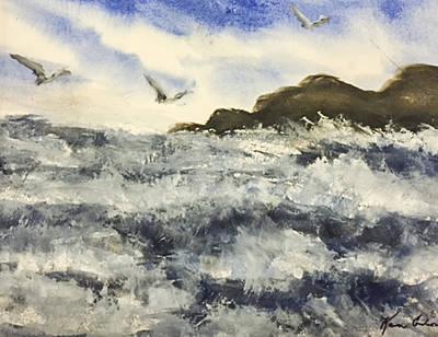 The Breeze  Art Print by Karen  Condron