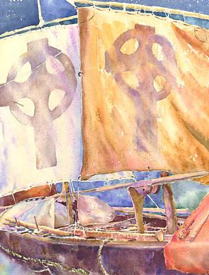 The Brendan Craggaunowen County Clare Art Print