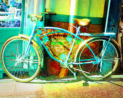 Photograph - The Briar Patch Bike by Timothy Bulone
