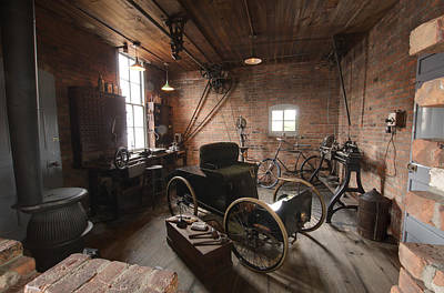 The Brick Ford Workshop Art Print by Paul Cannon