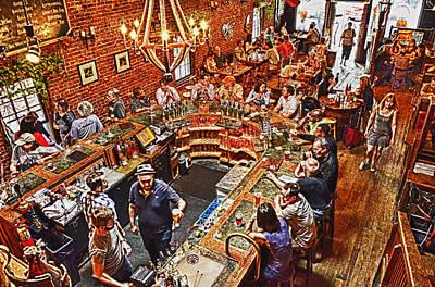 The Brick Store Pub Art Print by Paul Mashburn