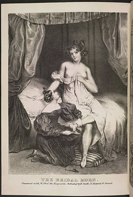 Depictions Of Nudity Photograph - The Bridal Morn by British Library