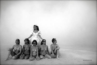 Nude Bride Photograph - The Bridal Party by Jim Bowers