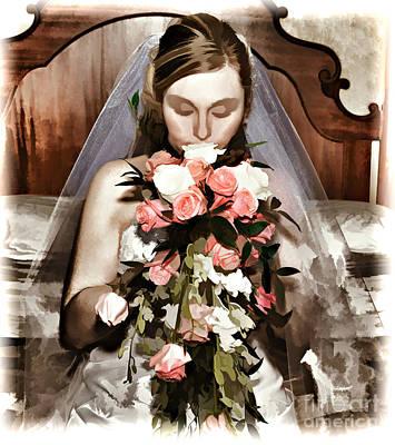 The Bride  Art Print by G Sugal