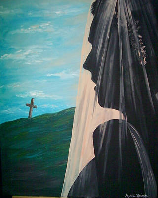 Painting - The Bride Of Christs by Marvin Barham