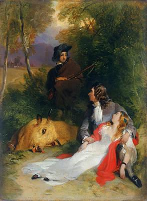 Landseer Painting - The Bride Of Lammermoor by Edwin Landseer