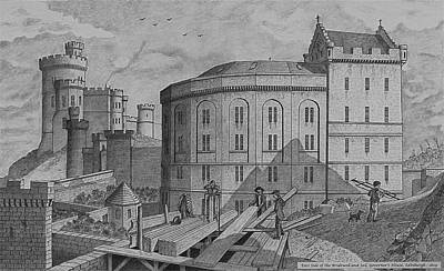 Drawing - The Bridewell. Edinburgh by William Goldsmith