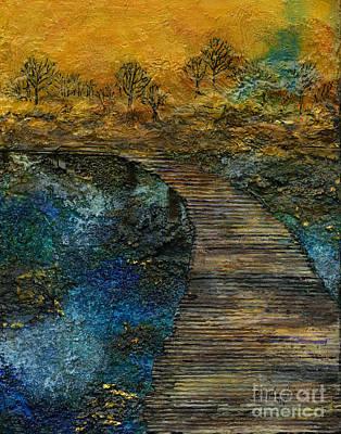Painting - The Bridge by Angela L Walker