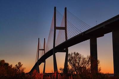 Photograph - The Bridge At Dawn by Kathryn Meyer
