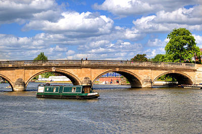 Photograph - The Bridge At Henley-on-thames by Chris Day