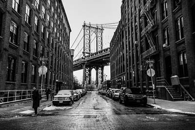 Photograph - The Bridge by Christopher Villandry