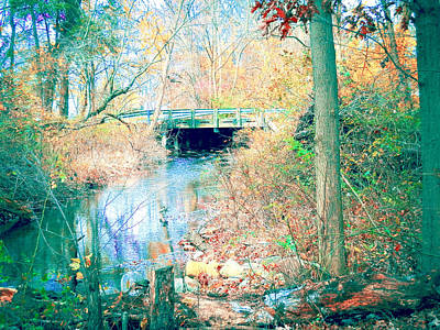 Mixed Media - The Bridge by Connie Dye