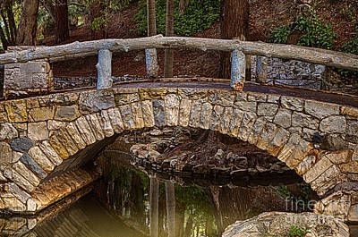 Photograph - The Bridge by Donna Greene