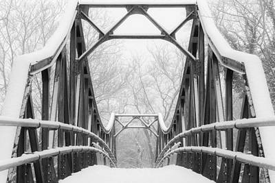 Photograph - The Bridge In Forest Park by Scott Rackers