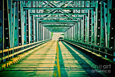 Bridges Photograph - The Bridge In Shell Knob Missouri Over Table Rock Lake In Color 2 by JC Kirk