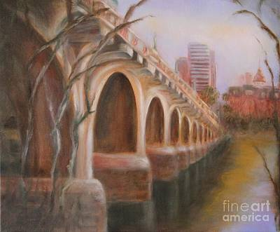 Painting - The Bridge by Kathy Lynn Goldbach