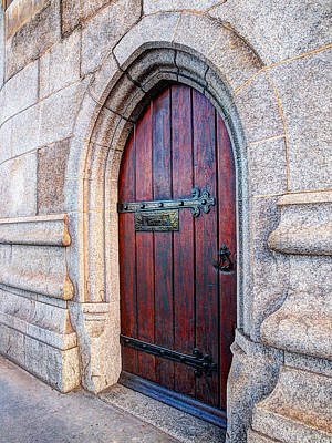 Mystery Door Photograph - The Bridge Master's Door Tower Bridge by Gill Billington