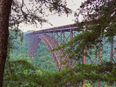Photograph - The Bridge - New River Gorge by Paulette B Wright