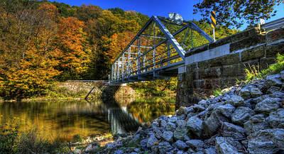 The Bridge Over Beaver Creek Art Print