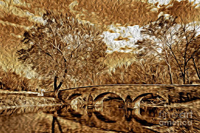 Photograph - The Bridge by Paul W Faust -  Impressions of Light