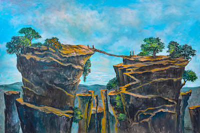 Painting - Lifes Journey by Randol Burns