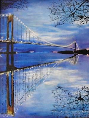 Painting - The Bridge by Sergey Selivanov