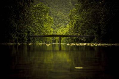 West Virginia Landscape Photograph - The Bridge by Shane Holsclaw