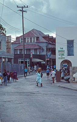 Bridgetown Photograph - The Bridge Store by Skip Willits
