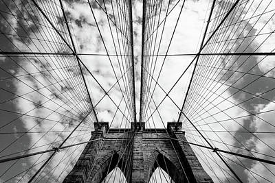 Grids Photograph - The Bridge by Susumu Nihashi