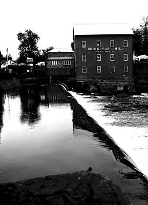 The Bridgeton Mill By Earl's Photography Art Print by Earl  Eells a