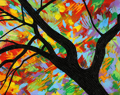 Painting - The Bright Season by Julianne Hunter