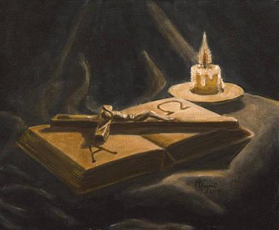 The Brightness Of Religion Original by Andreja Dujnic