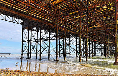 The Brighton Pier  Art Print