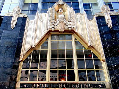 Photograph - The Brill Building by Ed Weidman
