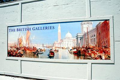 Photograph - The British Galleries by Kenny Glover