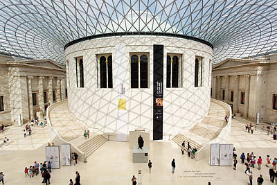 Photograph - The British Museum In London by Tony C French