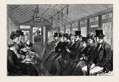 The Brixton And Kennington Tramway Print by English School