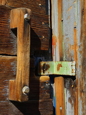 Photograph - The Broken Lock by Jacqueline  DiAnne Wasson