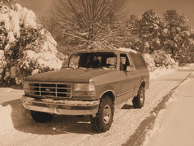 Photograph - The Bronco by JC Findley