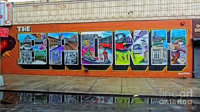 Yankee Stadium Photograph - The Bronx Graffiti by Nishanth Gopinathan