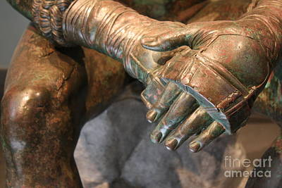 Photograph - The Bronze Boxer by Mary-Lee Sanders