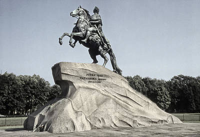 Photograph - The Bronze Horseman by Alan Toepfer