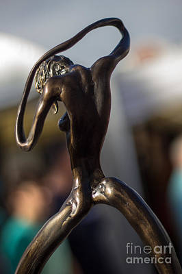 Photograph - The Bronze Lady In Arms by Rene Triay Photography