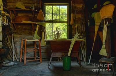 Photograph - The Broom Room by Adam Jewell